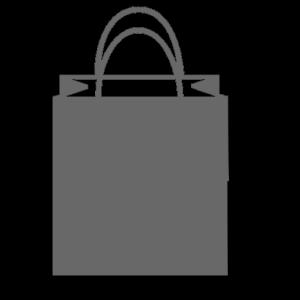 gray paper bag