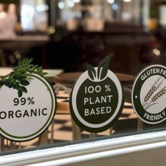 99% Organic 100% Plant-based